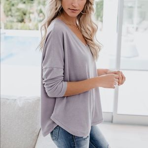 Meant to be thermal knit top